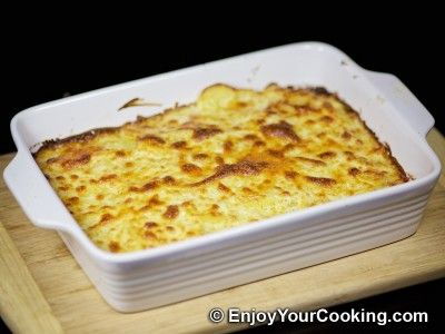 Recipe for Scalloped Potatoes with Parmesan: Step 20