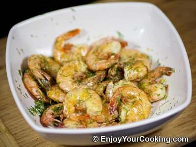 Recipe for Simple Fried Shrimps: Step 11