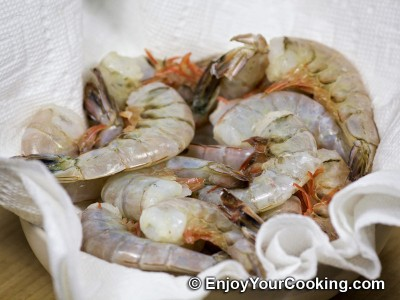 Recipe for Simple Fried Shrimps: Step 2