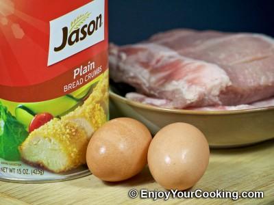 Recipe for Fried Pork Fingers: Step 1