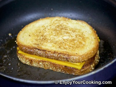 Grilled Cheese Sandwich Recipe: Step 9