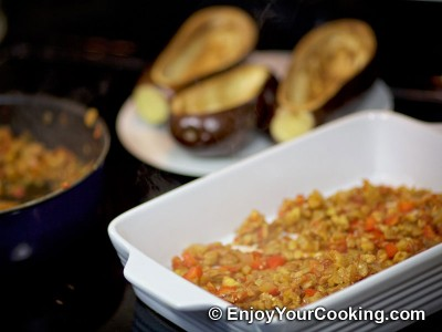 Meat Stuffed Eggplants Recipe: Step 10