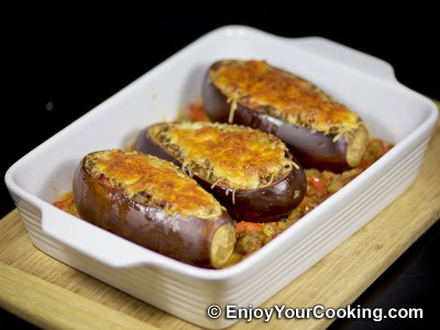 Meat Stuffed Eggplants Recipe: Step 18