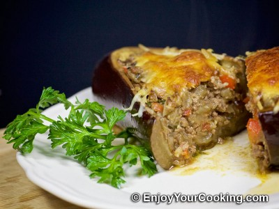 Meat Stuffed Eggplants Recipe: Step 19