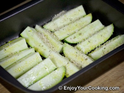 "Zucchini ""Fries"" with Parmesan and Spices: Step 6"