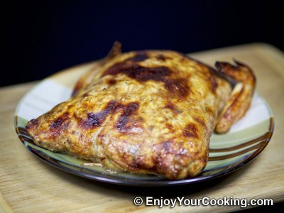 Prune and Walnut Stuffed Chicken Skin Recipe: Step 15