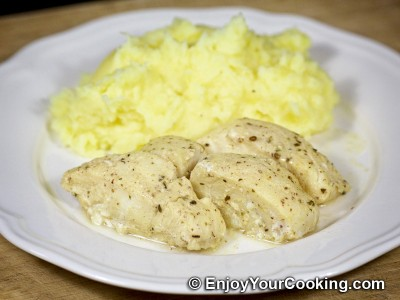 Baked Cod in Mustard and Lemon Marinade