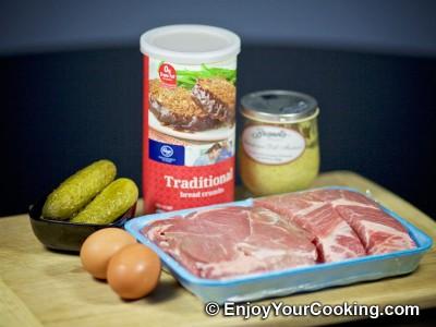 Deep Fried Pork Rolls with Pickles: Step 1