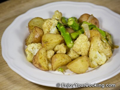 Oven Roasted Veggies with Fajita Spices