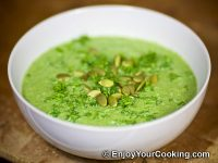 Summer Squash and Spinach Soup-Puree Recipe
