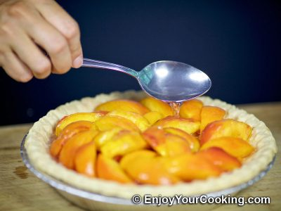 Fresh Peach Pie: Step 12