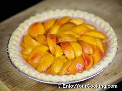 Fresh Peach Pie: Step 13