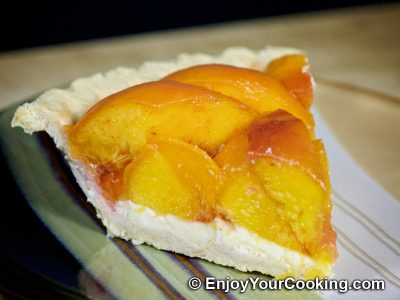 Fresh Peach Pie: Step 15