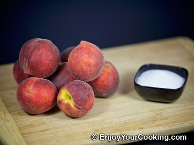 Персиковый компот: Шаг 1