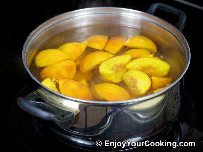 Peach Kompot: Step 5