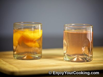 Peach Kompot: Step 9