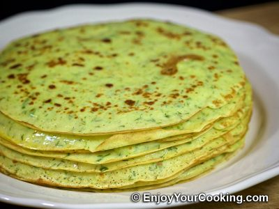 Zucchini Crepes: Step 13