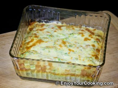 Zucchini and Chicken Casserole: Step 17