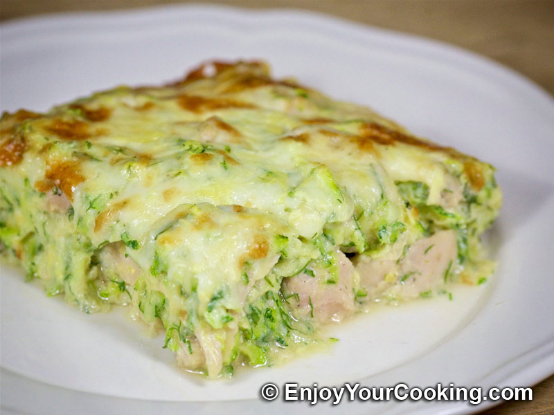 Zucchini and chicken casserole recipe my homemade food recipes zucchini and chicken casserole forumfinder Choice Image