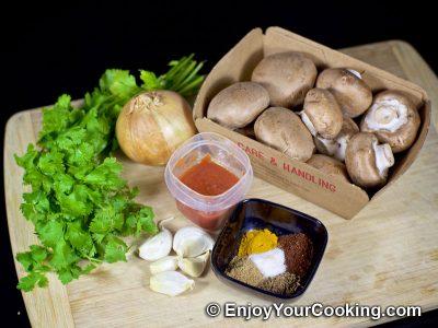 Mushroom Curry: Step 1