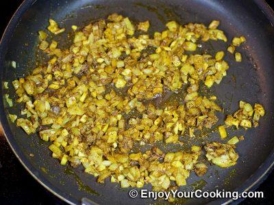 Mushroom Curry: Step 5