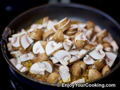Mushroom Curry: Step 7