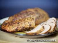 Roasted Pork tenderloin with Spicy Rub