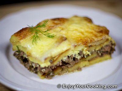 Beef Potato Mushroom Casserole