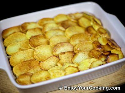 Beef Potato Mushroom Casserole: Step 13