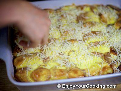 Beef Potato Mushroom Casserole: Step 16