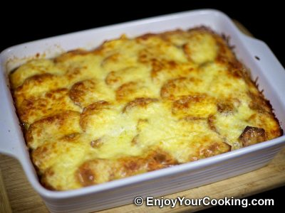 Beef Potato Mushroom Casserole: Step 17