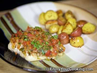 Baked Cod in Tomato Sauce