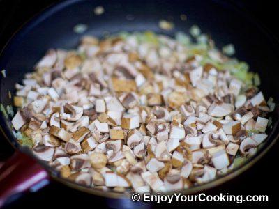 Chicken, Tomato and Mushroom Salad: Step 4