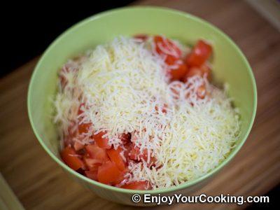 Chicken, Tomato and Mushroom Salad: Step 9