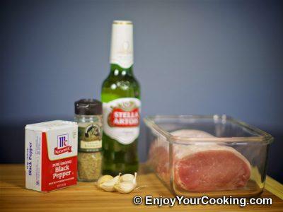 Beer Pork Roast: Step 1