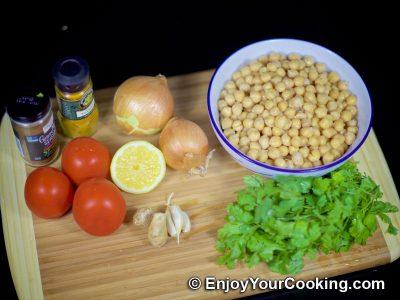Chickpea Garam Masala: Step 1