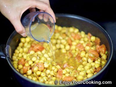 Chickpea Garam Masala: Step 10