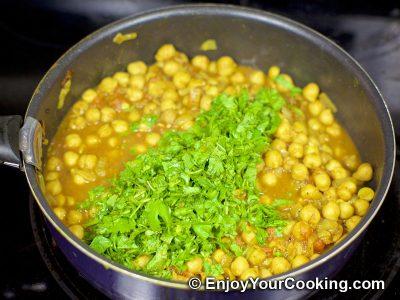 Chickpea Garam Masala: Step 11