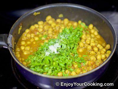 Chickpea Garam Masala: Step 12