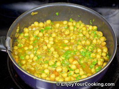 Chickpea Garam Masala: Step 13