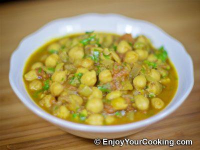 Chickpea Garam Masala: Step 14