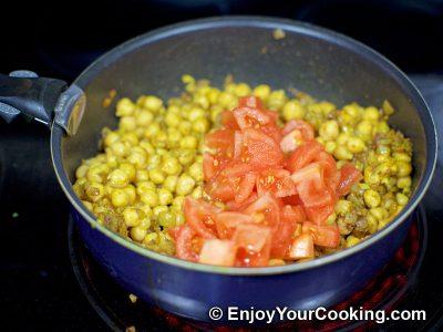 Chickpea Garam Masala: Step 8
