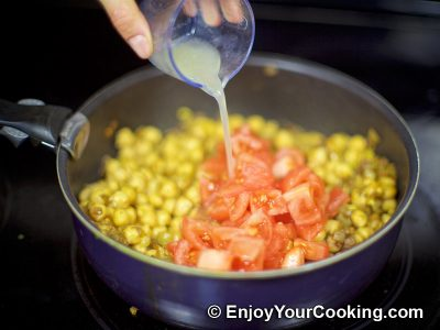 Chickpea Garam Masala: Step 9