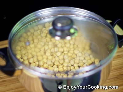 How to Boil Chickpeas: Step 3