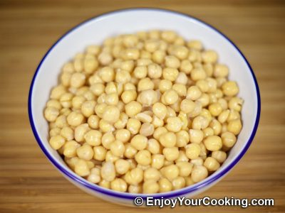 How to Boil Chickpeas: Step