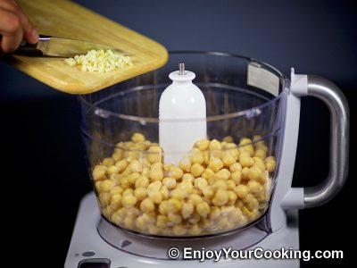 Homemade Chickpea Hummus: Step 3