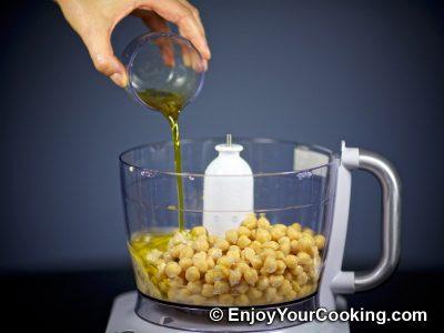 Homemade Chickpea Hummus: Step 6