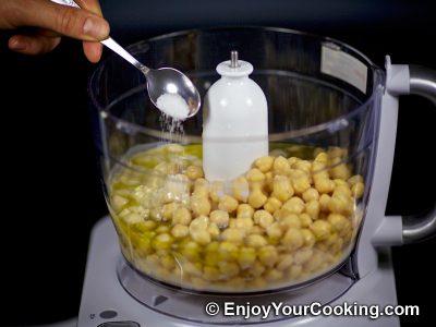 Homemade Chickpea Hummus: Step 8