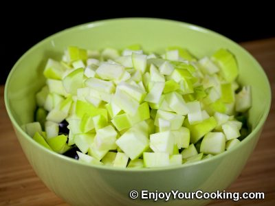 Apple and Cucumber Salad with Chicken: Step 5