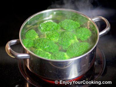 Salmon and Broccoli Frittata: Step 2
